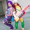 Psylocke and Rogue