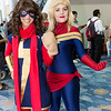 Ms. Marvel and Captain Marvel