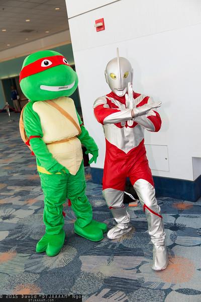Raphael and Ultraman