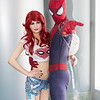 Mary Jane Watson and Spider-Man