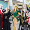 Dracula, Lisa, Maria Renard, and Alucard