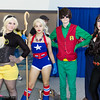Terra, Stargirl, Robin, and Raven