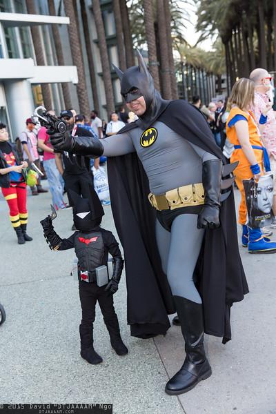 Batman Beyond and Batman
