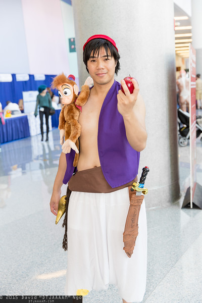 Aladdin and Abu
