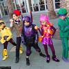GoGo Tomago, Doctor Who, Hiro Hamada, Honey Lemon, and Riddler