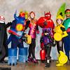 Yokai, Fred, Honey Lemon, Baymax, Hiro Hamada, GoGo Tomago, and Wasabi No-Ginger