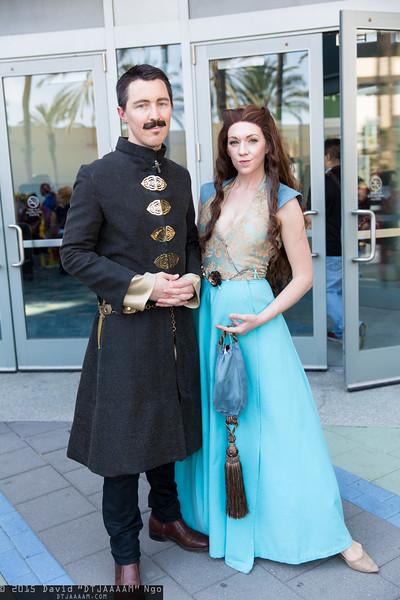 Petyr Baelish and Margaery Tyrell