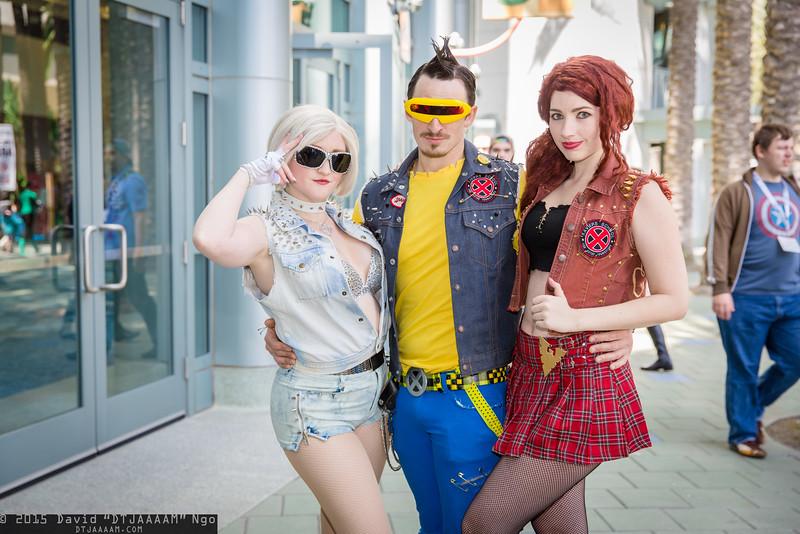 Emma Frost, Cyclops, and Dark Phoenix
