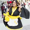 Pika Girl and Pikachu