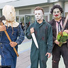 Jason Voorhees, Michael Myers, and Leatherface