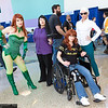 Poison Ivy, Huntress, Oracle, and Dove