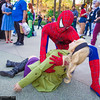 Gwen Stacy and Spider-Man
