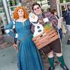Merida and Olaf
