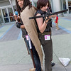 Michonne and Daryl Dixon