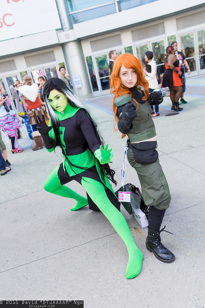 Shego and Kim Possible