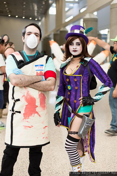 Dr. Zed and Mad Moxxi