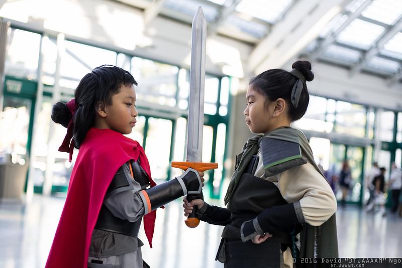 Li Shang and Mulan