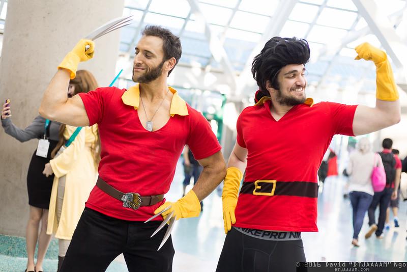 Wolverine and Gaston
