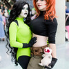 Shego, Kim Possible, and Rufus