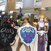 Dark Link, Link, Princess Zelda, and Midna