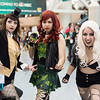 Zatanna, Poison Ivy, and Black Canary