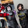 Katana and Batgirl