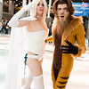 Emma Frost and Sabretooth
