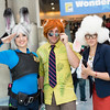 Judy Hopps, Nick Wilde, and Dawn Bellwether