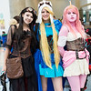 Marceline, Fionna, and Princess Bubblegum