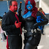 Azazel, Mystique, and Nightcrawler
