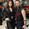 Black Widow and Hawkeye
