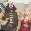 Robert Baratheon and Cersei Lannister