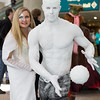 Emma Frost and Iceman