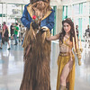 Chewbacca and Belle