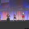 Hawkgirl, Wonder Woman, Batgirl, Katana, Supergirl, and Bumblebee