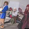 Bilbo Baggins, Legolas Greenleaf, and Smaug