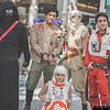 Kylo Ren, Poe Damerons, BB-8, and Rey