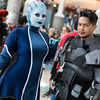 Liara T'Soni and Commander Shepard