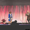 Smaug, Bilbo Baggins, and Legolas Greenleaf