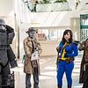 Power Armor, Nick Valentine, Vault Dweller, and NCR Ranger