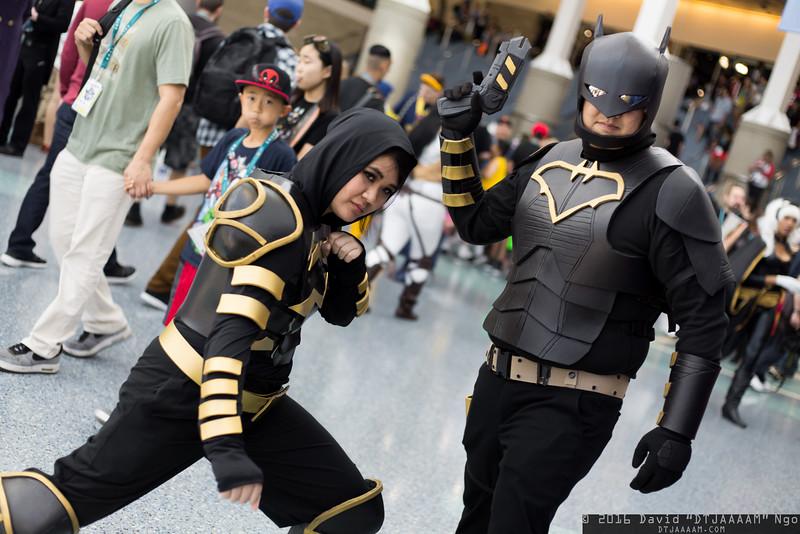 Cassandra Cain and Batman