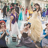 Ariel, Aladdin, Snow White, and Belles