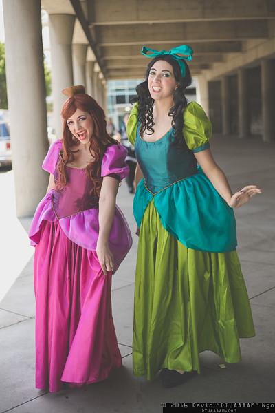 Anastasia Tremaine and Drizella Tremaine