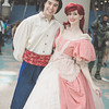 Prince Eric and Ariel