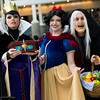 Queen Grimhilde, Snow White, and Old Hag