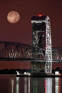 Moon over Steel