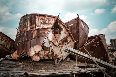 Rusty hulls