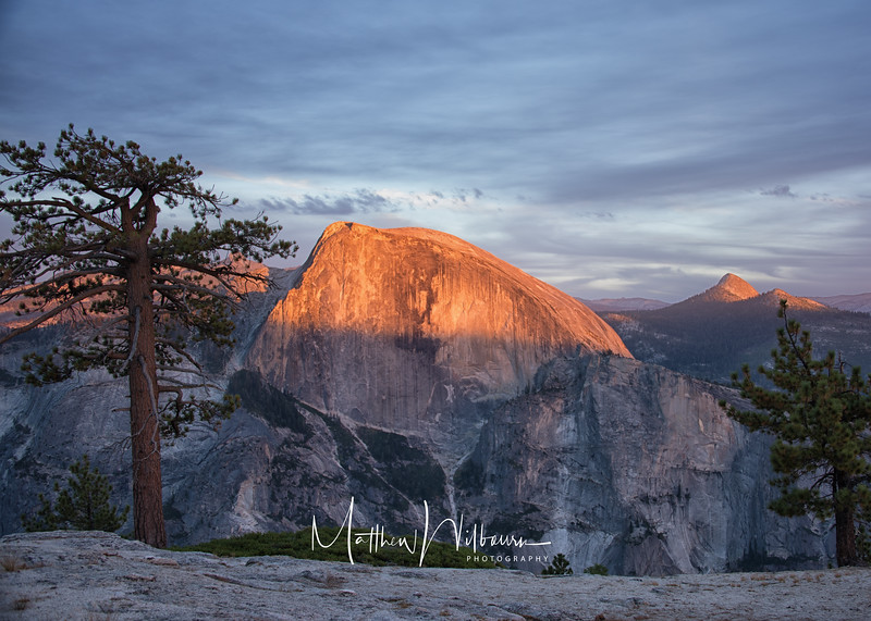 Yosemite North Dome - Half Dome