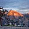 Yosemite North Dome - Half Dome