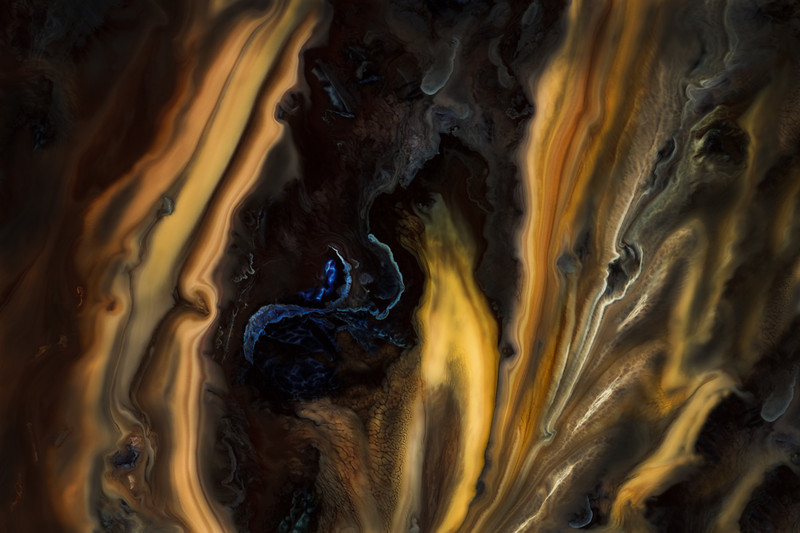 Burnished Gold, Pulsating with Life Series by Lydia Dagg, #0028
